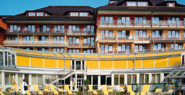 Wintergartenmarkise für Hotel